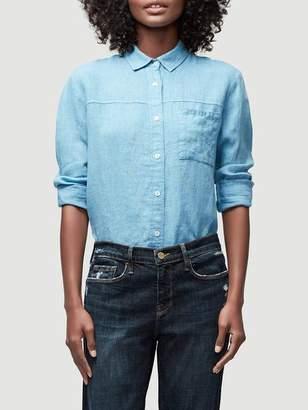 Frame Soft Pocket Linen Shirt
