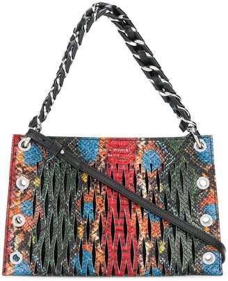 Sonia Rykiel double pouch shoulder bag