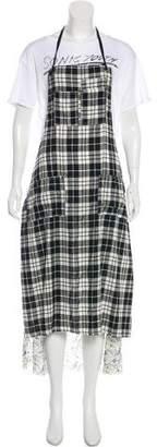 R 13 T-shirt Apron Maxi Dress w/ Tags