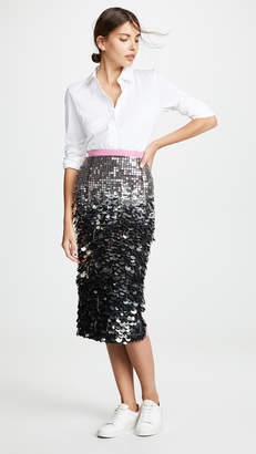 No.21 No. 21 Sequin Midi Skirt