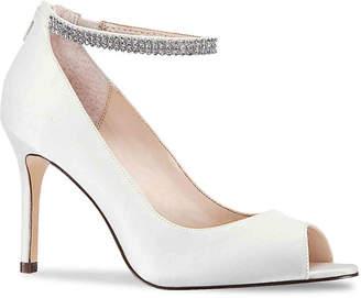 8e8740d2b45 Nina White Heels - ShopStyle
