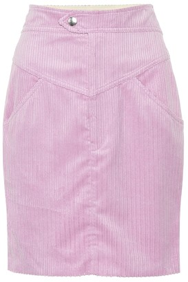 f8aad135c Isabel Marant Marsh high-rise corduroy skirt