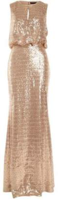 Dex Champagne Sequin Gown