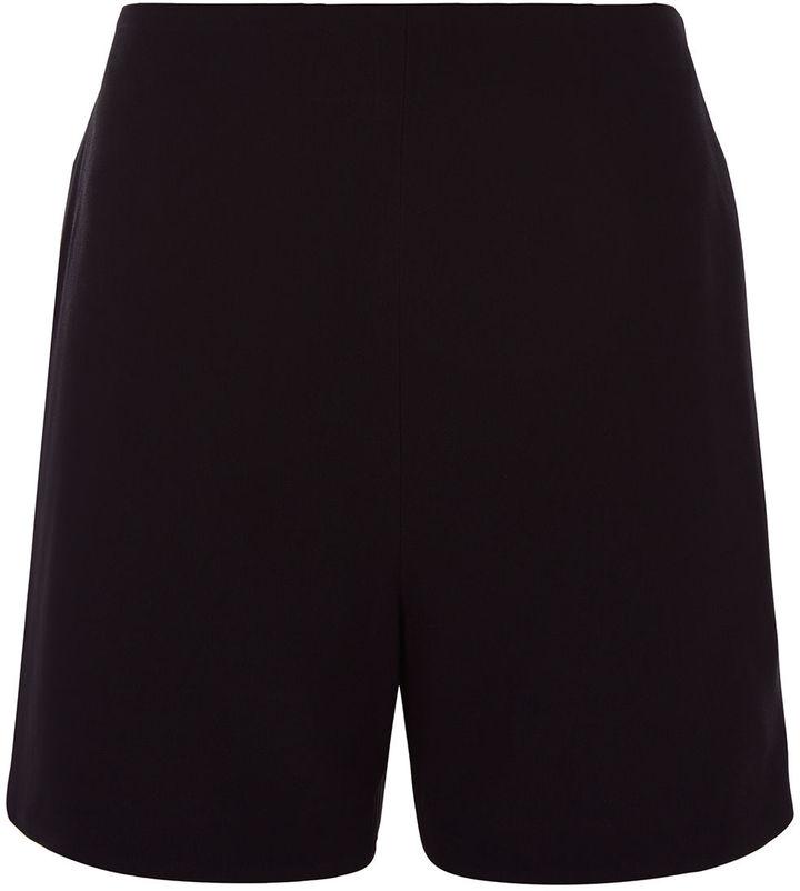 ChalayanChalayan Black Crepe Nothing Shorts