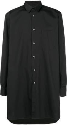 Comme des Garcons oversized side slit shirt