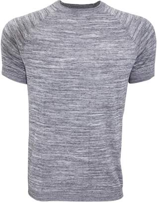 Bench Mens Cogs Fine Stripe Casual T-Shirt (Extra Large) (Grey)