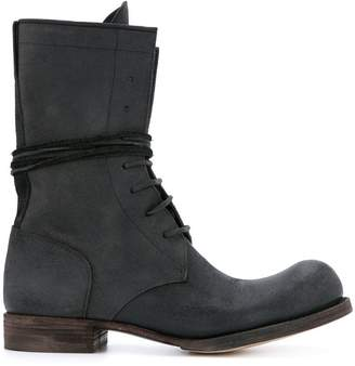 C Diem 7-Hole lace-up boots