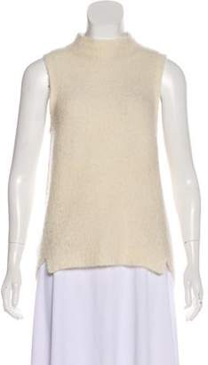 Milly Knit Cashmere Sleeveless Top
