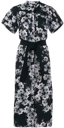 Erdem floral print shirt dress