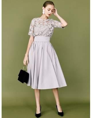 LAGUNAMOON (ラグナムーン) - ラグナムーン LADYオーバーレースギャザードレス