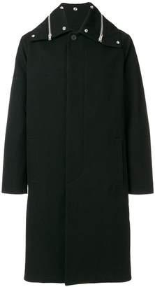 Givenchy zip collar coat