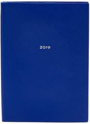 Smythson Soho 2019 grained leather diary