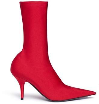 Balenciaga 'Knife' crepe jersey boots