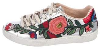 Gucci 2017 New Ace Embroidered Sneakers