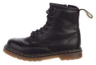 Dr. Martens Kids Boys' Brooklee Leather Boots