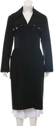 Alexander Wang Wool Raw-Edge Coat
