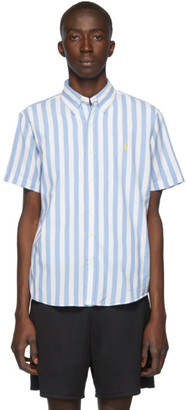 Polo Ralph Lauren Blue and White Classic Stripe Shirt