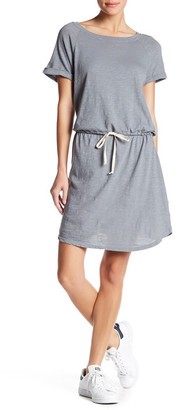 Allen Allen Raglan Roll Sleeve Dress $88 thestylecure.com