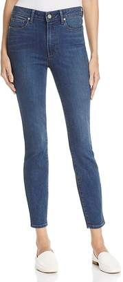 PAIGE Hoxton Skinny Ankle Jeans in Eastcote - 100% Exclusive $189 thestylecure.com