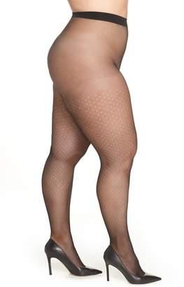 Hanes Curves Dot Net Tights