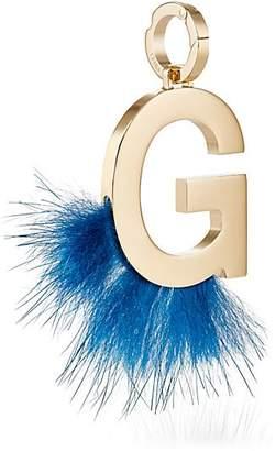 Fendi Women's ABClick G Bag Charm - Gold