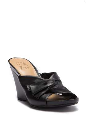 Naturalizer Breanna Knotted Wedge Sandal - Wide Width Available