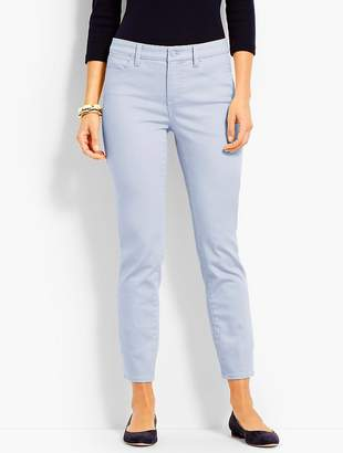 Talbots Colored Denim Slim Ankle Jean
