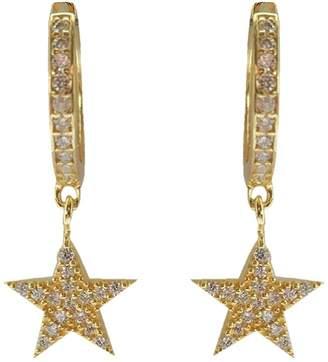 Wild Hearts - Midas Star Mini Hoop Earrings Gold