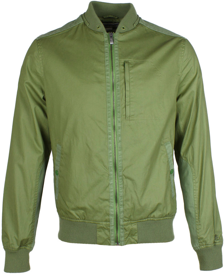 Penguin Loden Green Bomber Jacket