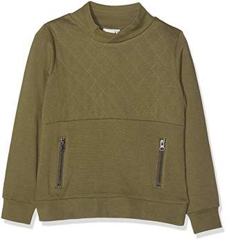 Name It Boy's Nkmnande Ls Sweat Bru Sweatshirt,(Manufacturer Size: 122-128)
