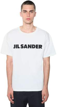 Jil Sander Printed Cotton Jersey T-Shirt