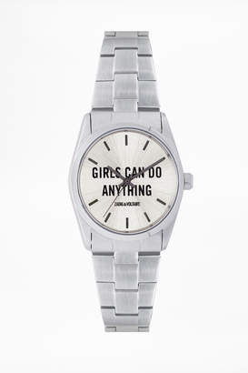 Zadig & Voltaire Timeless Girls Can Do Anything ZVT101 watch