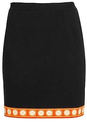 Moschino Women's Troll Knit Pencil Skirt