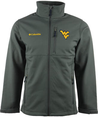 Columbia Men West Virginia Mountaineers Ascender Softshell Jacket