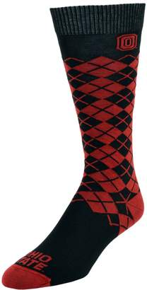 NCAA Women's Mojo Ohio State Buckeyes Argyle Socks