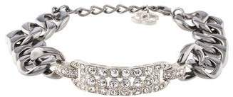 Chanel Crystal Curb Chain Choker