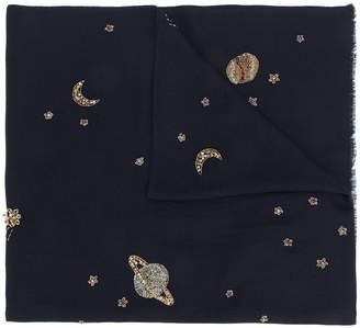 Janavi Celestial Galaxy scarf