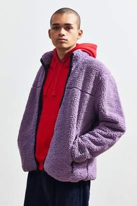 Stussy Zip-Up Sherpa Jacket