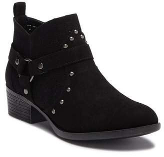 Chinese Laundry Wallis Suede Perforated Ankle Bootie