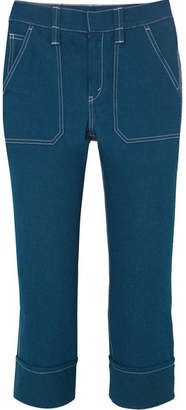 Chloé Cropped High-rise Skinny Jeans - Indigo