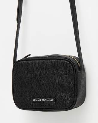 Armani Exchange Pebble PU Crossbody