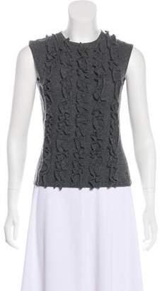 Burberry Sleeveless Wool Sweater