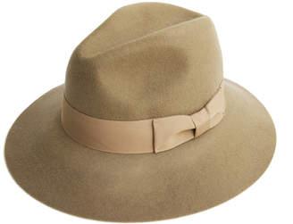 af1919ffa Justine Hats Wide Brim Felt Fedora Hat