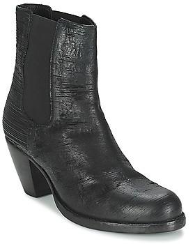 Fred de la Bretonière ALMERE women's Low Ankle Boots in Black