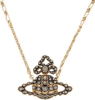 Vivienne WestwoodVivienne Westwood Crystal Pendant Necklace