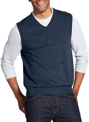 Van Heusen Solid Sweater Vest
