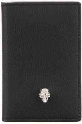 Alexander McQueen skull charm wallet