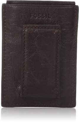 Fossil Men's RFID Blocking Ingram Magnetic Card Case