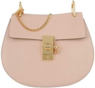 Chloé Drew Crossbody Bag Cement Pink