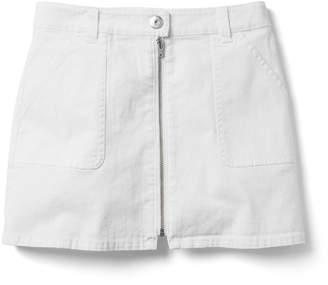 Crazy 8 Crazy8 Stretch Denim Zip Skirt